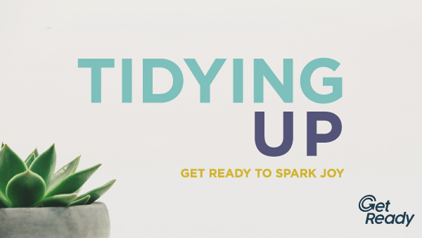 Week 1 - Get Ready to Spark Joy Image